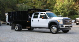2016 Ford F550, V10 Crew Cab Dump Truck, 39k Miles, Southern-Owned, 2WD